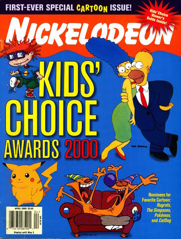 File:Nickelodeon Magazine cover April 2000 Kids Choice Awards.jpg