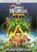 Jimmy Neutron Movie UK DVD