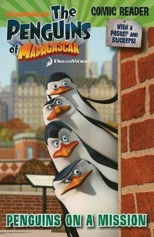 File:Penguins of Madagascar Penguins on a Mission Book.JPG