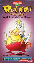 Rocko WithFriendsLikeThese VHS Sony