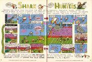 Nickelodeon Magazine Grampa Julie Shark Hunters December January 2006