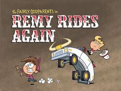 Titlecard-Remy Rides Again