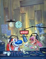 Ren and Stimpy Radio Daze cover art