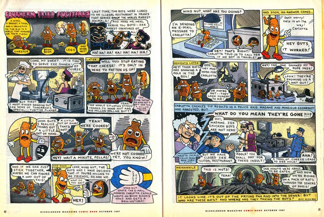 File:Nickelodeon Magazine comic Southern Fried Fugitives October 1997.jpg