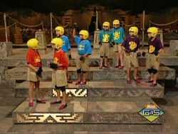 Legends of the Hidden Temple steps of knowledge