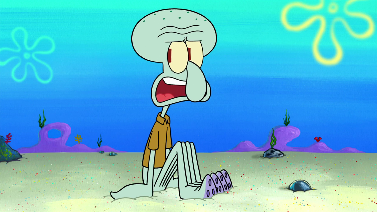 image squidward tentacles it came from goo lagoon png