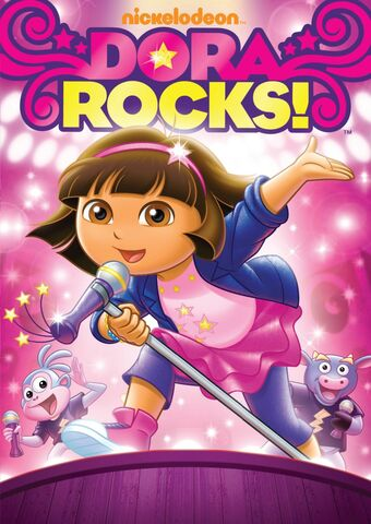 File:Dora the Explorer Dora Rocks DVD.jpg