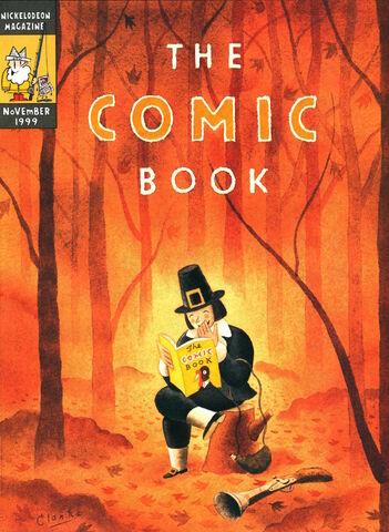 File:Nickelodeon Magazine The Comic Book cover November 1999 pilgrim.jpg