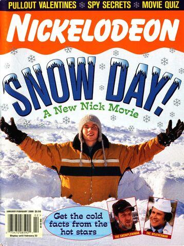 File:Nickelodeon Magazine cover January February 2000 Snow Day.jpg