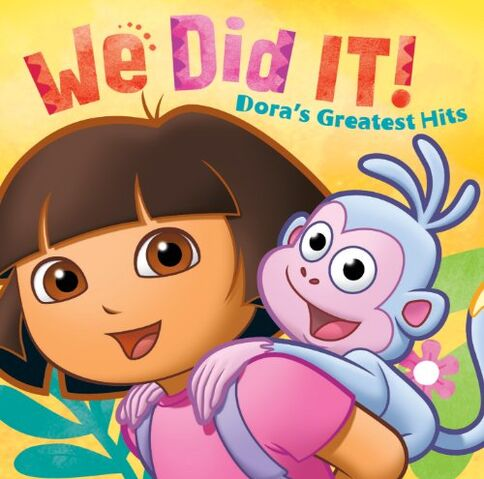 File:We Did It! Dora's Greatest Hits CD.jpg