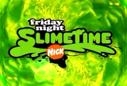 Friday Night Slimetime logo