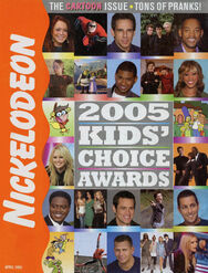 Nickelodeon Magazine cover April 2005 Kids Choice Awards
