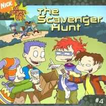 All Grown Up The Scavenger Hunt Book