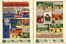 Nickelodeon Magazine Grampa Julie Shark Hunters Episode 2 November 1999