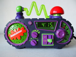 Time Blaster Alarm Clock