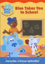 Blue's Clues Blue Takes You to School DVD