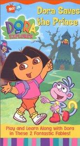 File:Dora the Explorer Dora Saves the Prince VHS.jpg