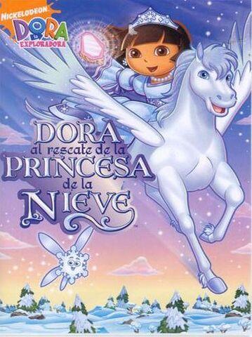 File:Dora the Explorer Dora Saves the Snow Princess DVD 1.jpg