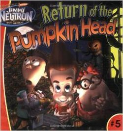 Jimmy Neutron Return of the Pumpkin Head Book