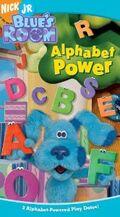 Blue's Room Alphabet Power VHS