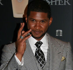 Usher at the Usher Fragrance Launch @ Cipriani's