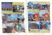 Nickelodeon Magazine comic Southern Fried Fugitives April 1997