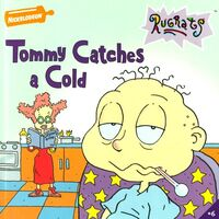 Rugrats Tommy Catches a Cold Book