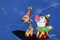 Clown ren and clown stimpy