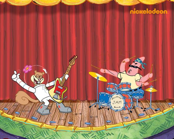 File:SpongeBob Band Wallpaper.jpg