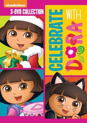 File:Dora the Explorer Celebrate With Dora 2014 Re-Release.jpg