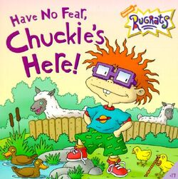 Rugrats Have No Fear Chuckie's Here! Book