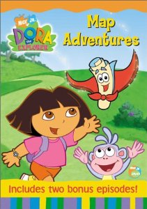 File:Dora the Explorer Map Adventures DVD.jpg