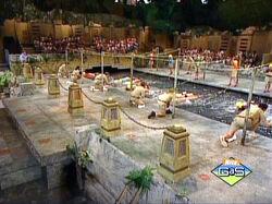 Legends of the Hidden Temple moat