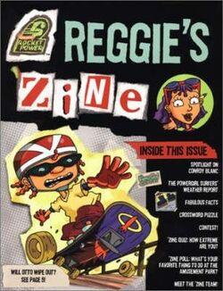 Rocket Power Reggie's Zine Book