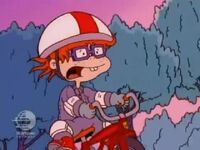Chuckie biking