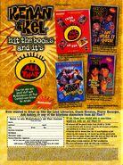 Nickelodeon magazine October 1998 kenan & Kel All that advertisement