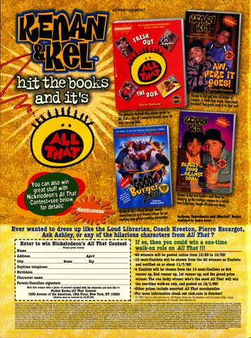 File:Nickelodeon magazine October 1998 kenan & Kel All that advertisement.jpg