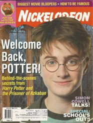 Nickelodeon magazine cover june july 2004 harry potter