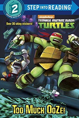 File:Teenage Mutant Ninja Turtles Too Much Ooze! Book.jpg