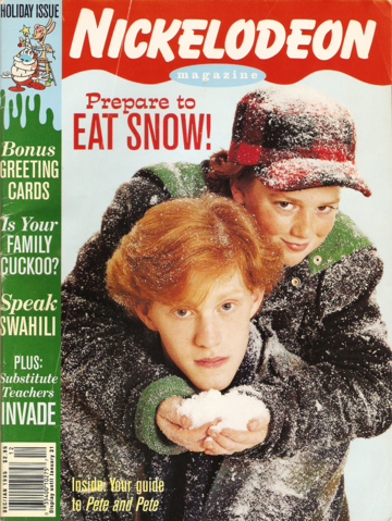 File:Nickelodeon Magazine cover december january 1995 pete and pete.png