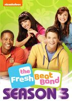 The Fresh Beat Band Season 3 DVD