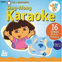 Nick Jr. Sing-Along Karaoke Vol 1 CD