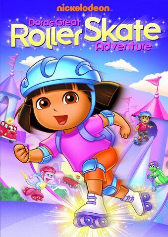 File:Dora the Explorer Dora's Great Roller Skate DVD.jpg