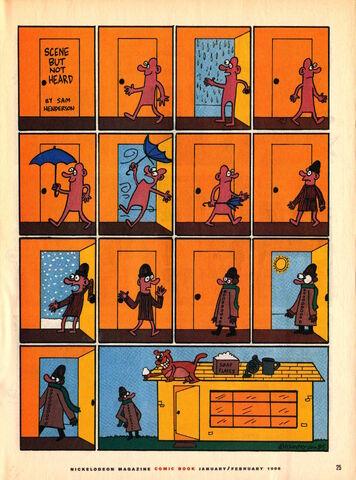 File:Nickelodeon Magazine comic February 1996 Scene but not Heard.jpg