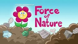 Titlecard Force of Nature