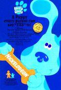 Blue's Clues Print Advertisement3