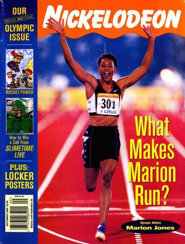 File:Nickelodeon Magazine cover September 2000 Marion Jones.jpg