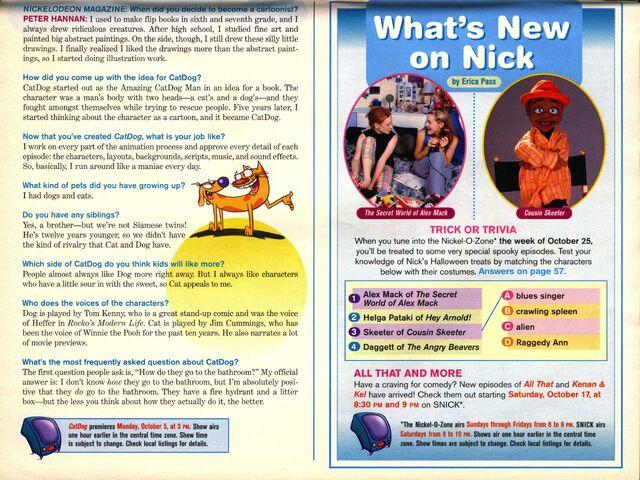 File:Nickelodeon Magazine October 1998 CatDog Peter Hannan interview pg 2.jpg