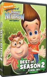 Jimmy Neutron DVD = Best Of S2