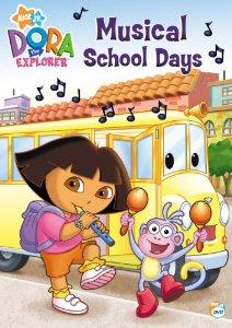 File:Dora the Explorer Musical School Days DVD.jpg
